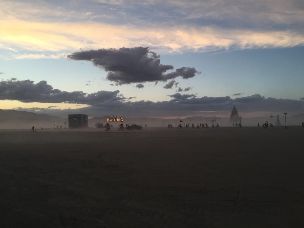 21. Burning Man
